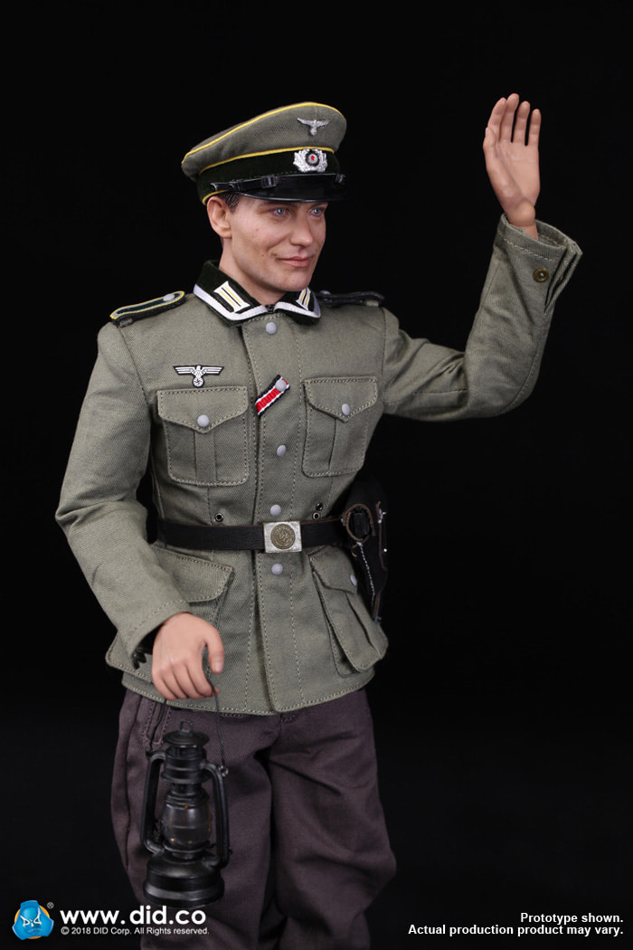 DiD - NEW PRODUCT: Gerd - WH Radio Operator - WWII German Communications Series 3 - DiD 1/6 Scale Figure 1662