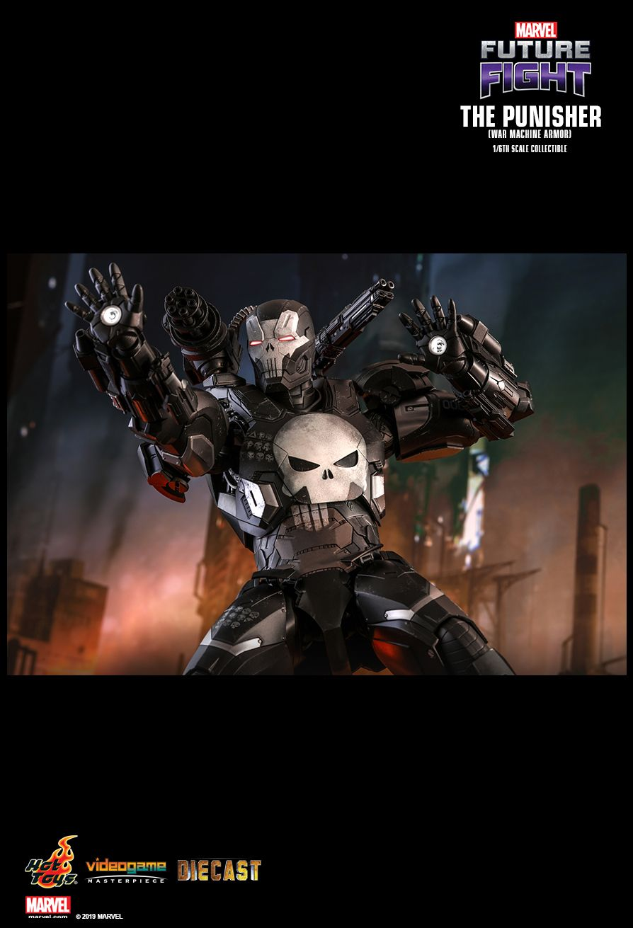Videogame - NEW PRODUCT: HOT TOYS: MARVEL FUTURE FIGHT THE PUNISHER (WAR MACHINE ARMOR) 1/6TH SCALE COLLECTIBLE FIGURE 1670