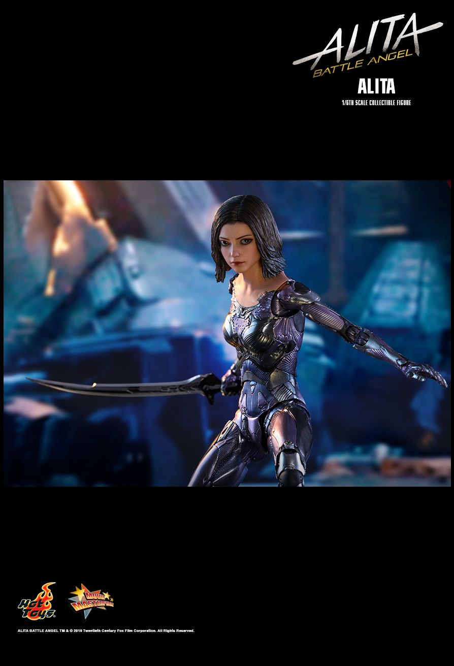 Alita - NEW PRODUCT: HOT TOYS: ALITA: BATTLE ANGEL ALITA 1/6TH SCALE COLLECTIBLE FIGURE 1674