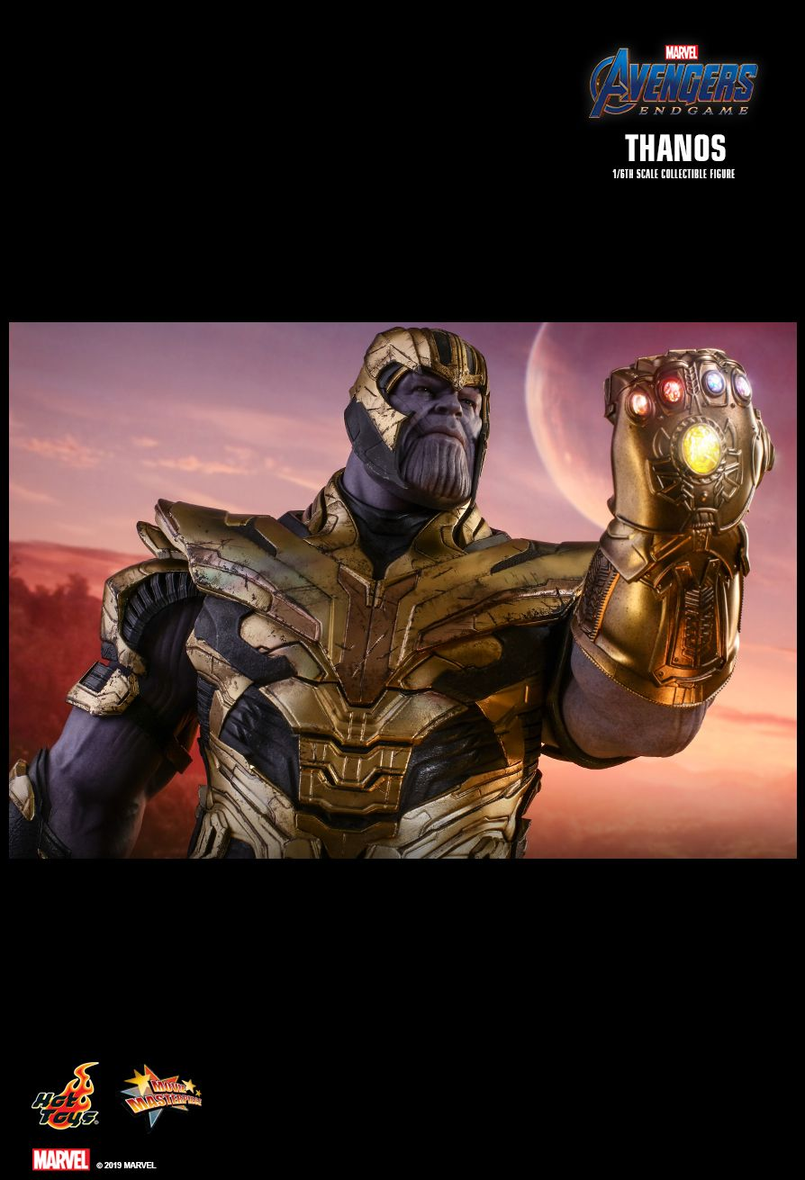 Thanos - NEW PRODUCT: HOT TOYS: AVENGERS: ENDGAME THANOS 1/6TH SCALE COLLECTIBLE FIGURE 1688