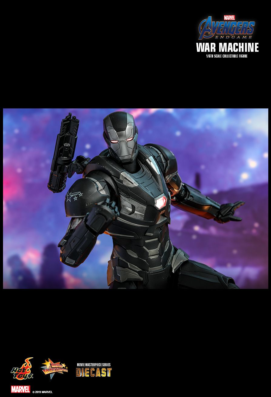 WarMachine - NEW PRODUCT: HOT TOYS: AVENGERS: ENDGAME WAR MACHINE 1/6TH SCALE COLLECTIBLE FIGURE 1691