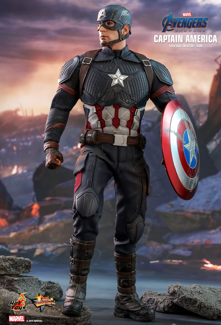 captainamerica - NEW PRODUCT: HOT TOYS: AVENGERS: ENDGAME CAPTAIN AMERICA 1/6TH SCALE COLLECTIBLE FIGURE 1699