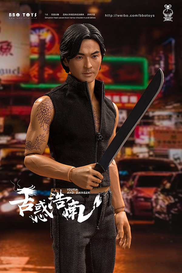 NEW PRODUCT: BBO TOYS YOUTH AND DANGER - BROTHER HO NAM 1/6 SCALE ACTION FIGURE (TWO BODIES) 17000410