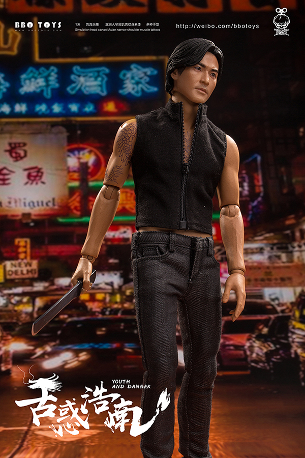 NEW PRODUCT: BBO TOYS YOUTH AND DANGER - BROTHER HO NAM 1/6 SCALE ACTION FIGURE (TWO BODIES) 17000510