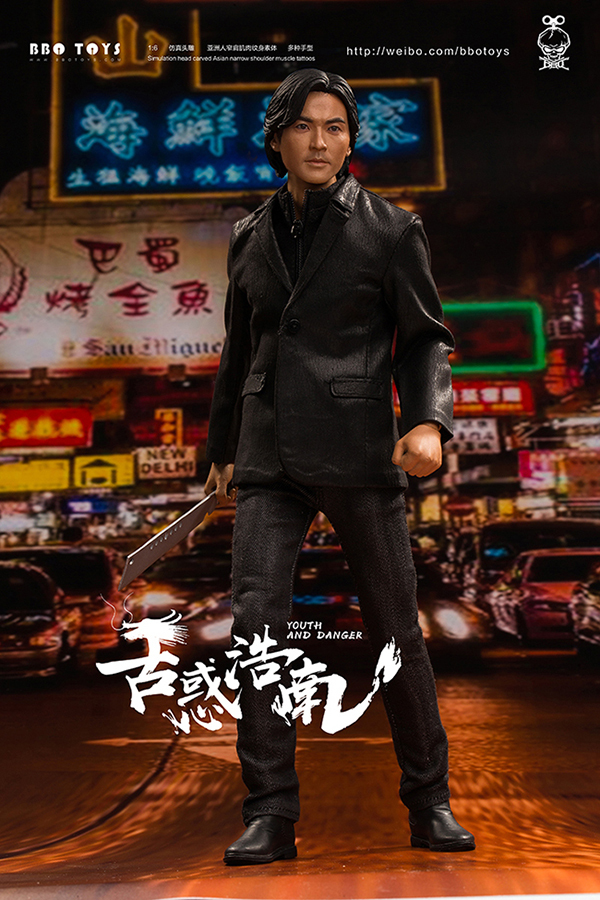 NEW PRODUCT: BBO TOYS YOUTH AND DANGER - BROTHER HO NAM 1/6 SCALE ACTION FIGURE (TWO BODIES) 17002110