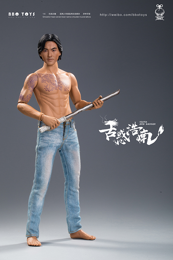 NEW PRODUCT: BBO TOYS YOUTH AND DANGER - BROTHER HO NAM 1/6 SCALE ACTION FIGURE (TWO BODIES) 17003310