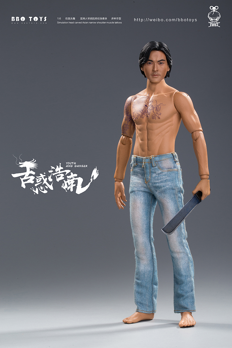 NEW PRODUCT: BBO TOYS YOUTH AND DANGER - BROTHER HO NAM 1/6 SCALE ACTION FIGURE (TWO BODIES) 17004610
