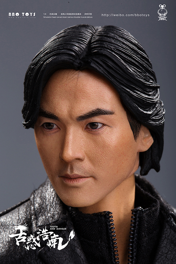 NEW PRODUCT: BBO TOYS YOUTH AND DANGER - BROTHER HO NAM 1/6 SCALE ACTION FIGURE (TWO BODIES) 17011211
