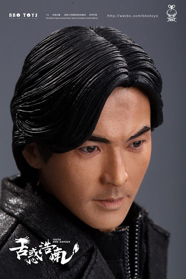 NEW PRODUCT: BBO TOYS YOUTH AND DANGER - BROTHER HO NAM 1/6 SCALE ACTION FIGURE (TWO BODIES) 17011310