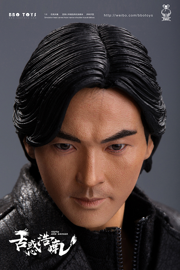 NEW PRODUCT: BBO TOYS YOUTH AND DANGER - BROTHER HO NAM 1/6 SCALE ACTION FIGURE (TWO BODIES) 17011410