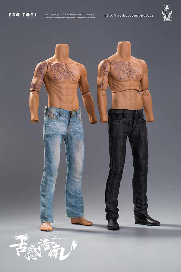 NEW PRODUCT: BBO TOYS YOUTH AND DANGER - BROTHER HO NAM 1/6 SCALE ACTION FIGURE (TWO BODIES) 17011810