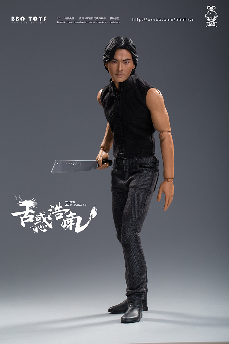 NEW PRODUCT: BBO TOYS YOUTH AND DANGER - BROTHER HO NAM 1/6 SCALE ACTION FIGURE (TWO BODIES) 17012710