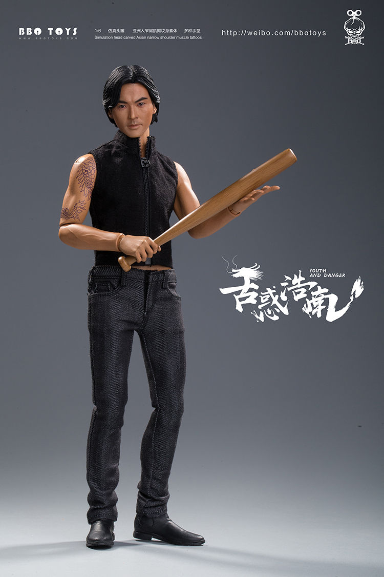 NEW PRODUCT: BBO TOYS YOUTH AND DANGER - BROTHER HO NAM 1/6 SCALE ACTION FIGURE (TWO BODIES) 17013110