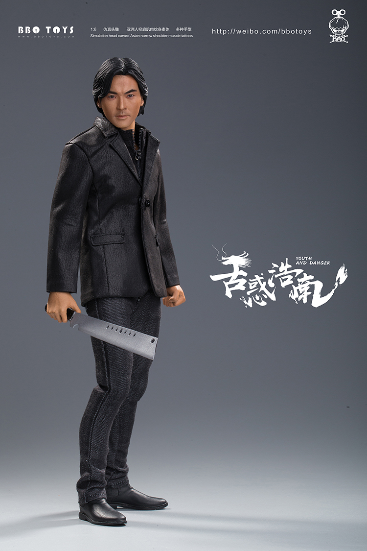 NEW PRODUCT: BBO TOYS YOUTH AND DANGER - BROTHER HO NAM 1/6 SCALE ACTION FIGURE (TWO BODIES) 17013111