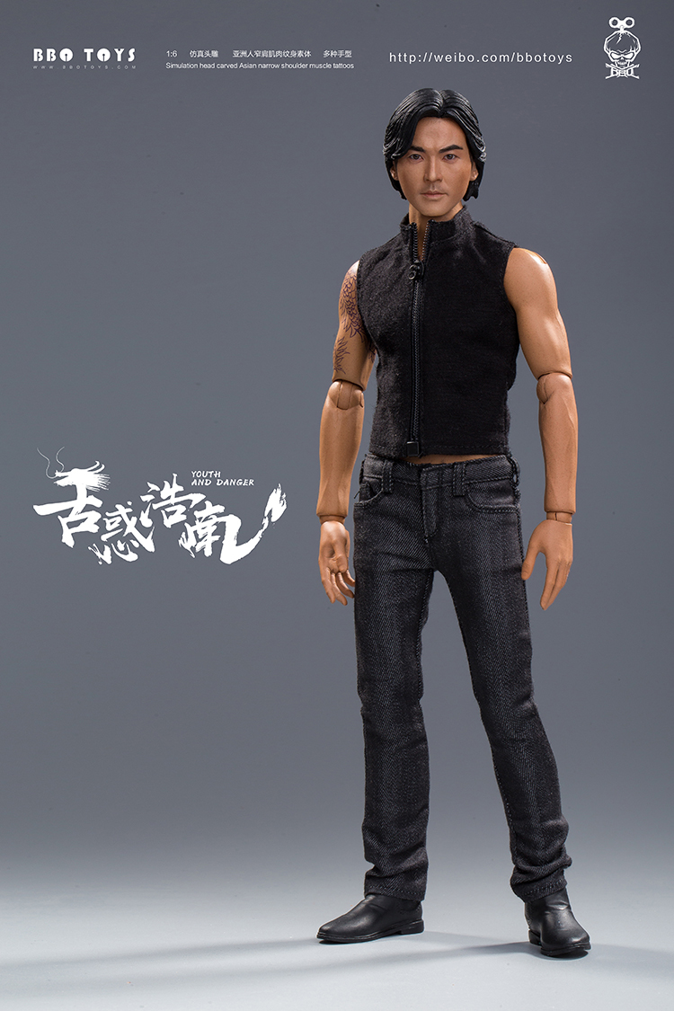 NEW PRODUCT: BBO TOYS YOUTH AND DANGER - BROTHER HO NAM 1/6 SCALE ACTION FIGURE (TWO BODIES) 17013610