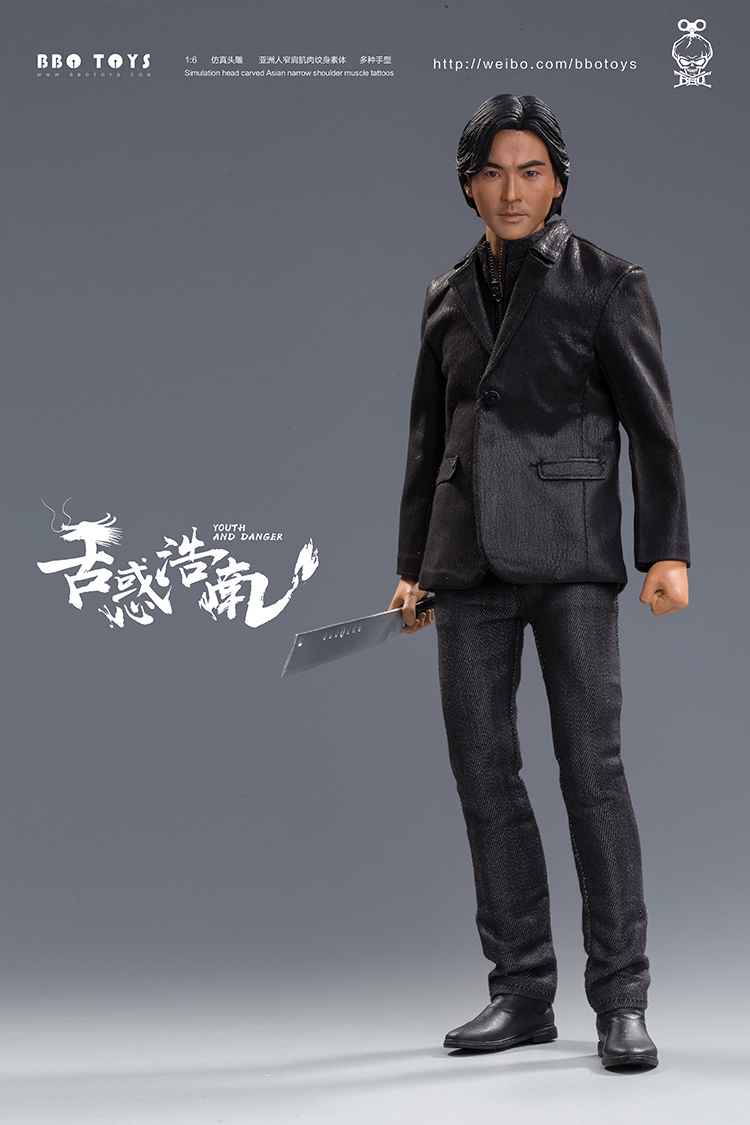 NEW PRODUCT: BBO TOYS YOUTH AND DANGER - BROTHER HO NAM 1/6 SCALE ACTION FIGURE (TWO BODIES) 17013611