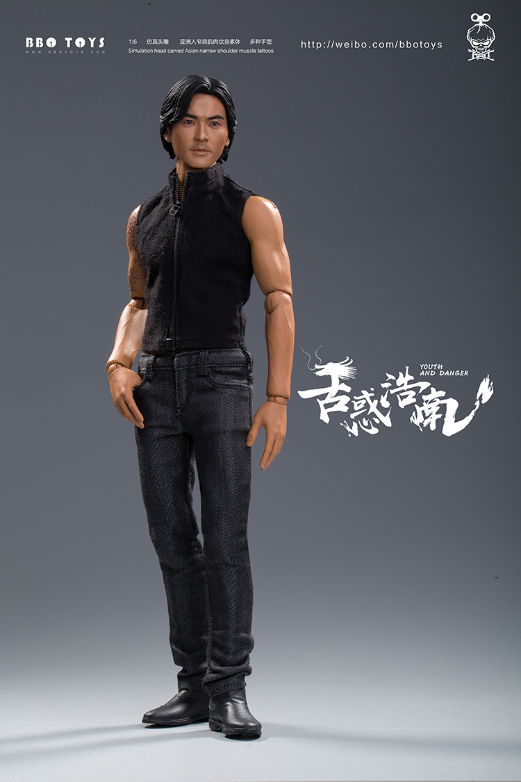 NEW PRODUCT: BBO TOYS YOUTH AND DANGER - BROTHER HO NAM 1/6 SCALE ACTION FIGURE (TWO BODIES) 17013710
