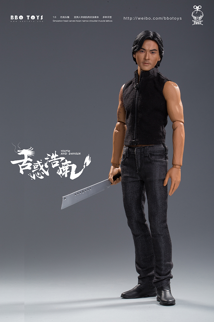 NEW PRODUCT: BBO TOYS YOUTH AND DANGER - BROTHER HO NAM 1/6 SCALE ACTION FIGURE (TWO BODIES) 17013810