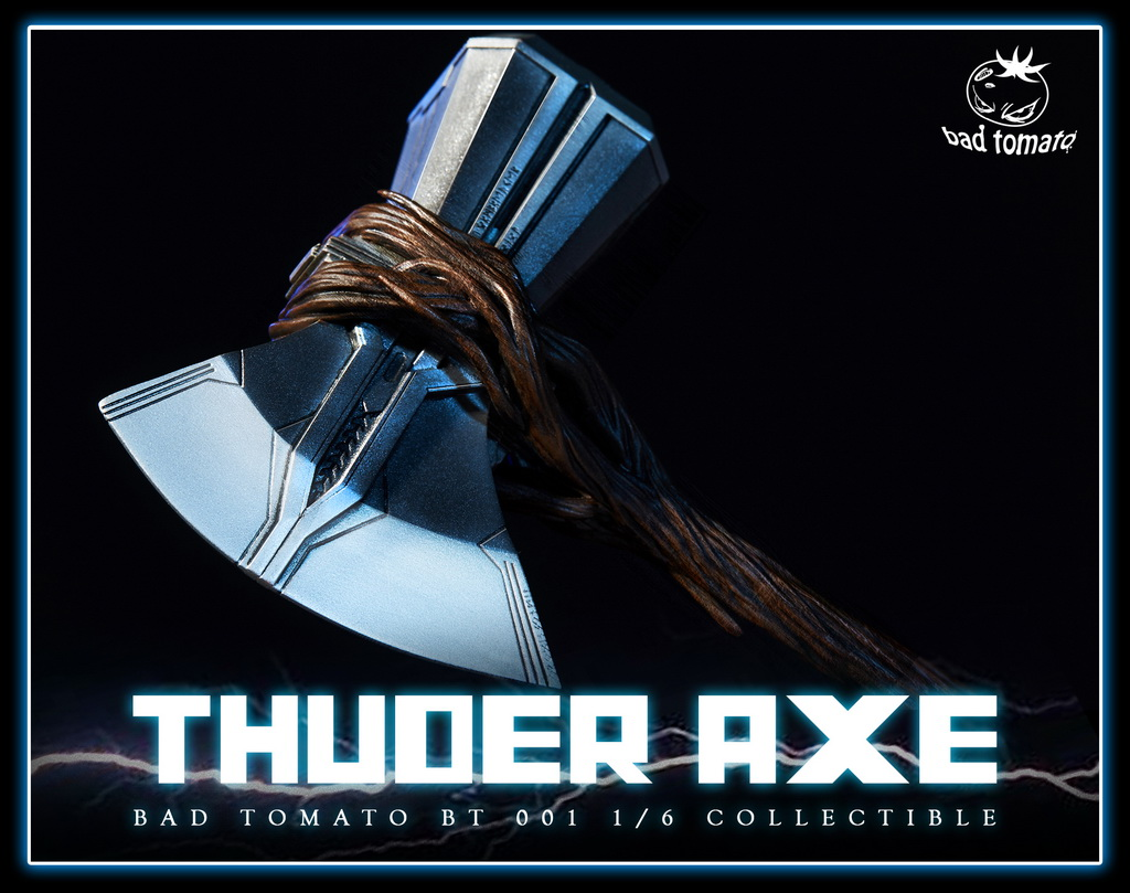 NEW PRODUCT: Bad Tomato New: 1/6 Thuder Axe Storm Axe - 2 (BT 001#) 17023910