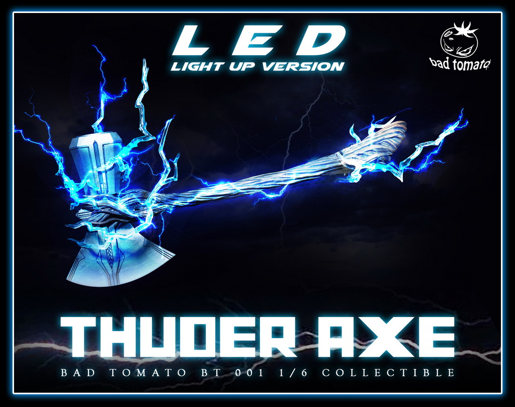 NEW PRODUCT: Bad Tomato New: 1/6 Thuder Axe Storm Axe - 2 (BT 001#) 17024411