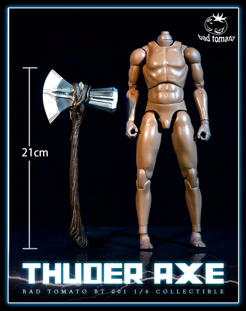 NEW PRODUCT: Bad Tomato New: 1/6 Thuder Axe Storm Axe - 2 (BT 001#) 17024511