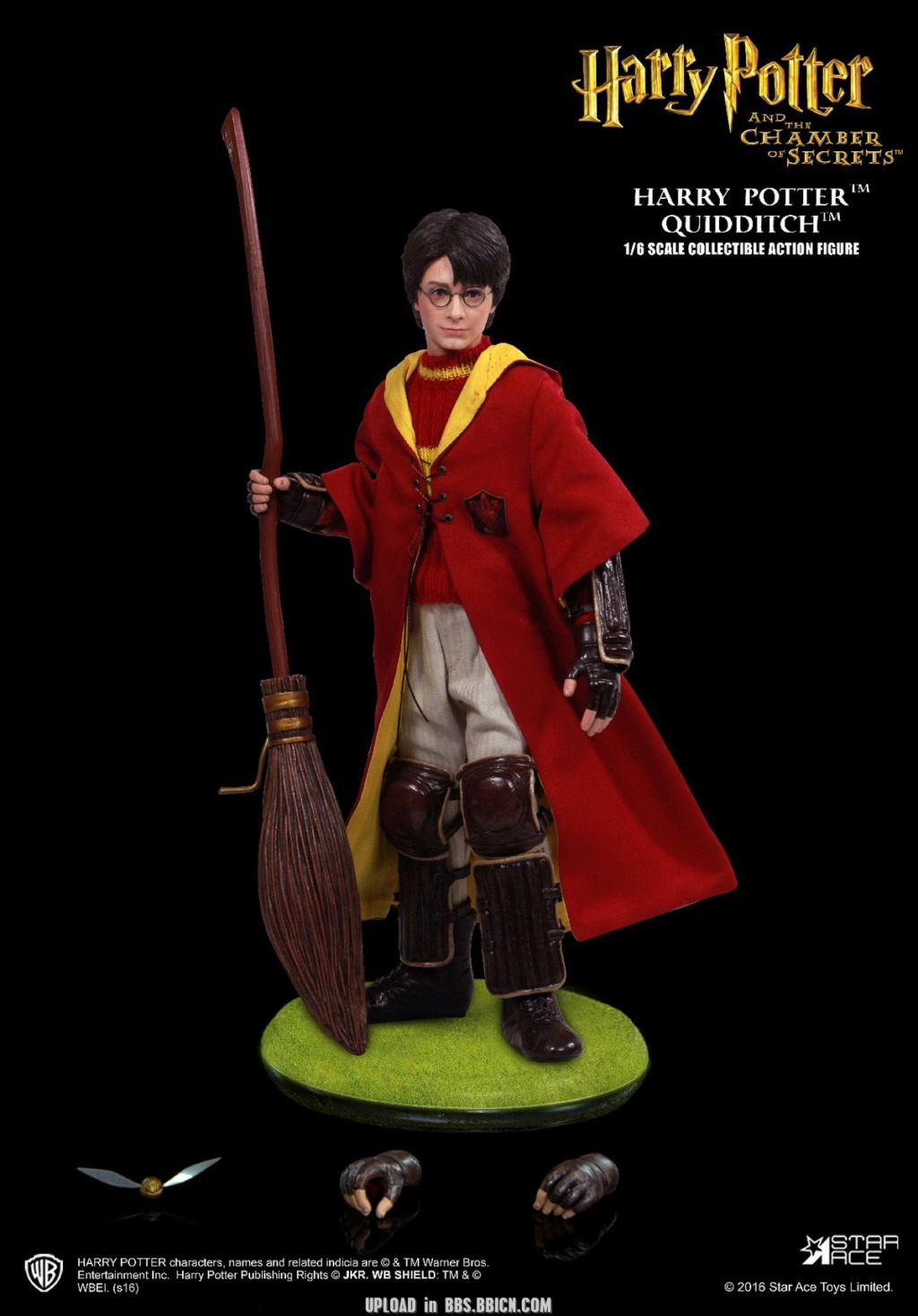 DracoMalfoy2 - NEW PRODUCT: STAR ACE Toys: 1/6 Harry Potter + Malfoy 2.0 Playing Set & Single & Uniform Edition 17050310
