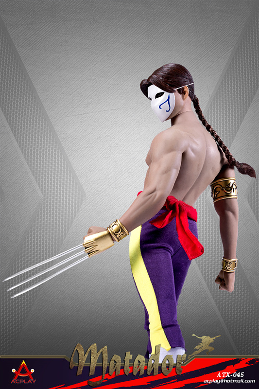Videogame - NEW PRODUCT: ACPLAY New: ATX045 /6 Street Fighter Matador Ninja Set with head carving 17052310