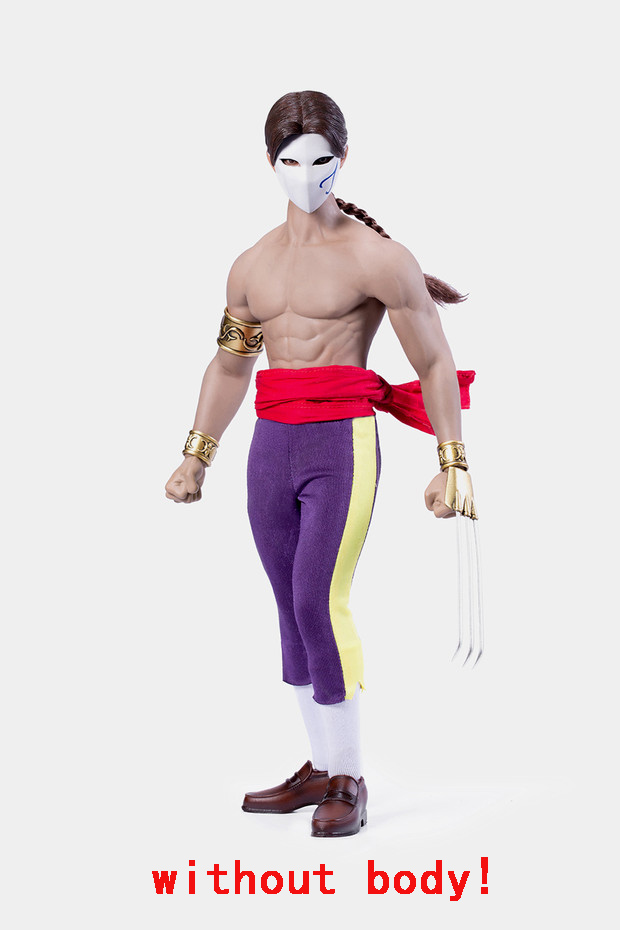 NEW PRODUCT: ACPLAY New: ATX045 /6 Street Fighter Matador Ninja Set with head carving 17061310