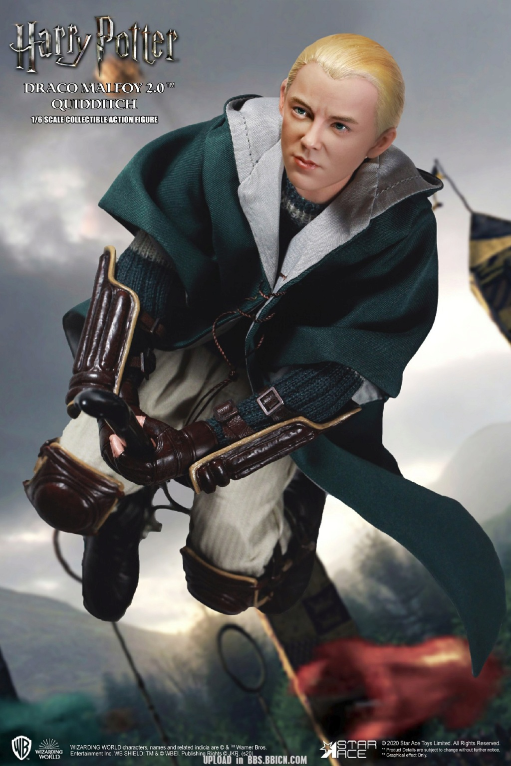 DracoMalfoy2 - NEW PRODUCT: STAR ACE Toys: 1/6 Harry Potter + Malfoy 2.0 Playing Set & Single & Uniform Edition 17063810