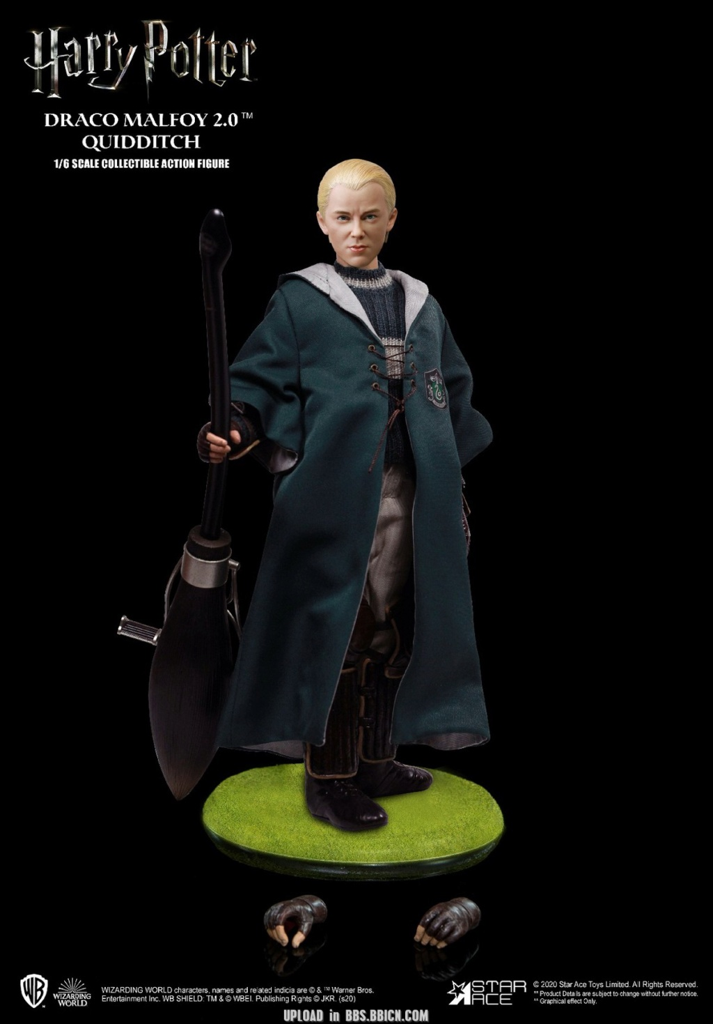 DracoMalfoy2 - NEW PRODUCT: STAR ACE Toys: 1/6 Harry Potter + Malfoy 2.0 Playing Set & Single & Uniform Edition 17064810