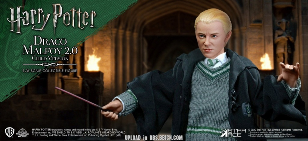 DracoMalfoy2 - NEW PRODUCT: STAR ACE Toys: 1/6 Harry Potter + Malfoy 2.0 Playing Set & Single & Uniform Edition 17081111