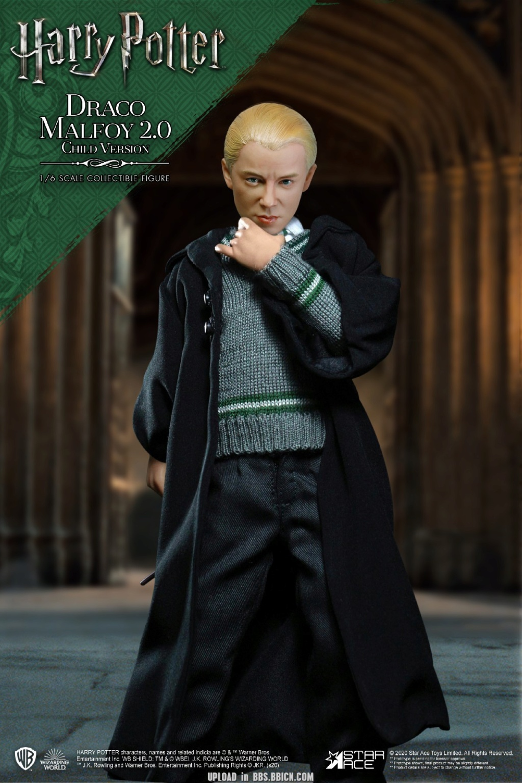 DracoMalfoy2 - NEW PRODUCT: STAR ACE Toys: 1/6 Harry Potter + Malfoy 2.0 Playing Set & Single & Uniform Edition 17081411
