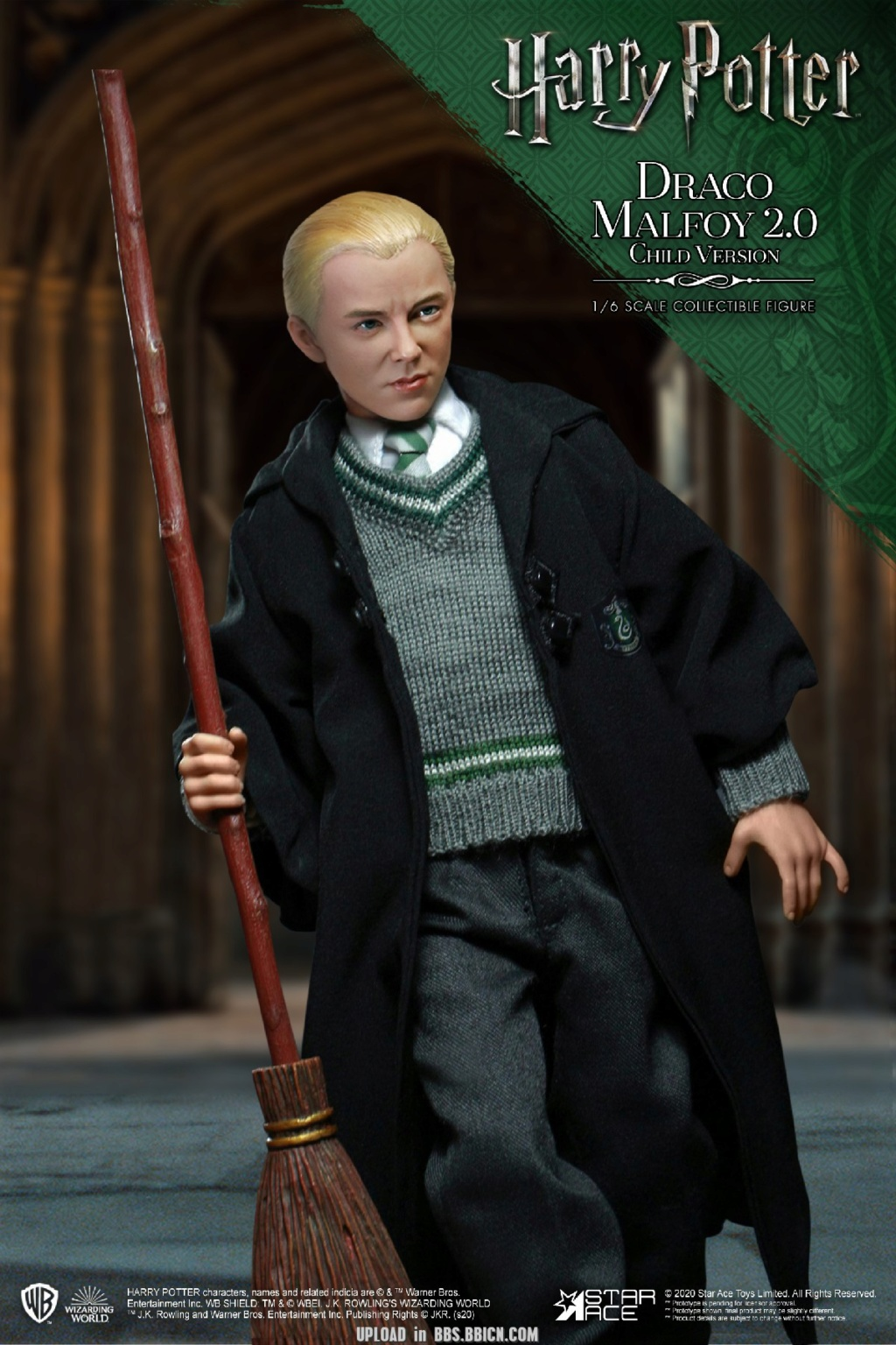 DracoMalfoy2 - NEW PRODUCT: STAR ACE Toys: 1/6 Harry Potter + Malfoy 2.0 Playing Set & Single & Uniform Edition 17081610