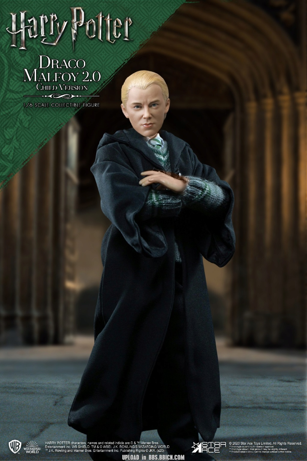 DracoMalfoy2 - NEW PRODUCT: STAR ACE Toys: 1/6 Harry Potter + Malfoy 2.0 Playing Set & Single & Uniform Edition 17082010
