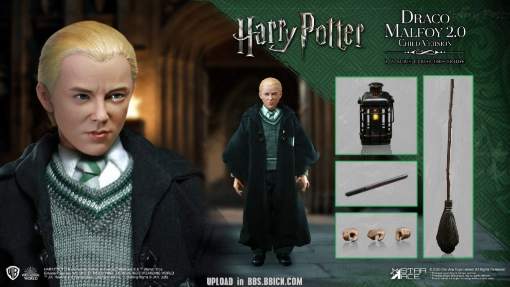 DracoMalfoy2 - NEW PRODUCT: STAR ACE Toys: 1/6 Harry Potter + Malfoy 2.0 Playing Set & Single & Uniform Edition 17082710