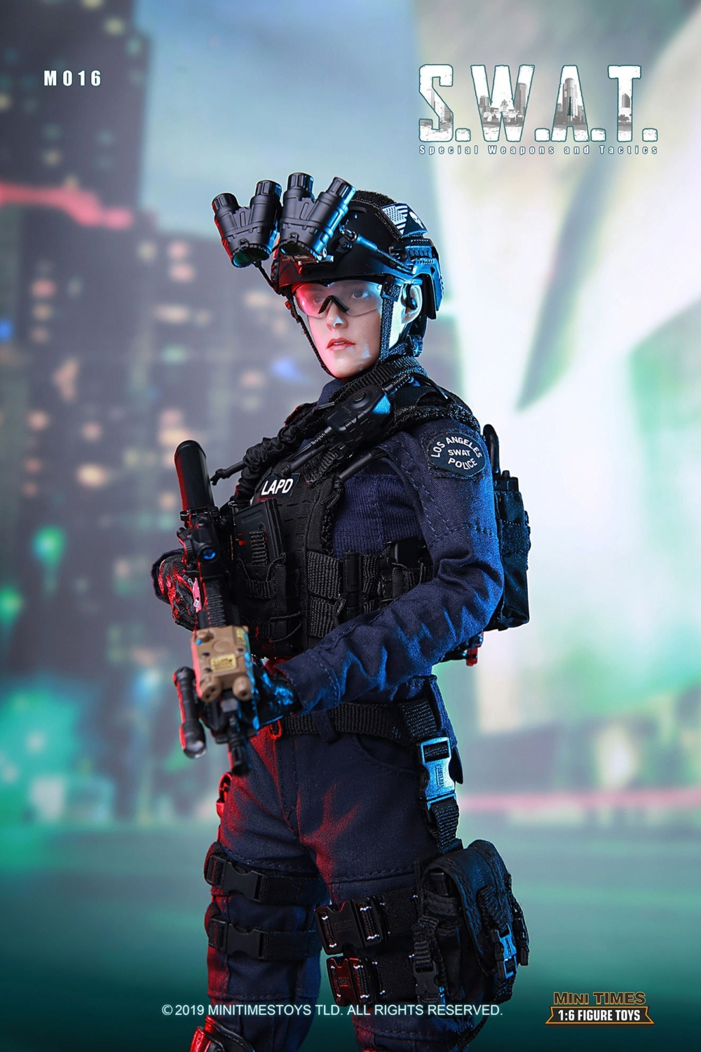 MiniTimes - NEW PRODUCT: mini times toys M016 1/6 Scale Female S.W.A.T. Military 12in Figure 1709