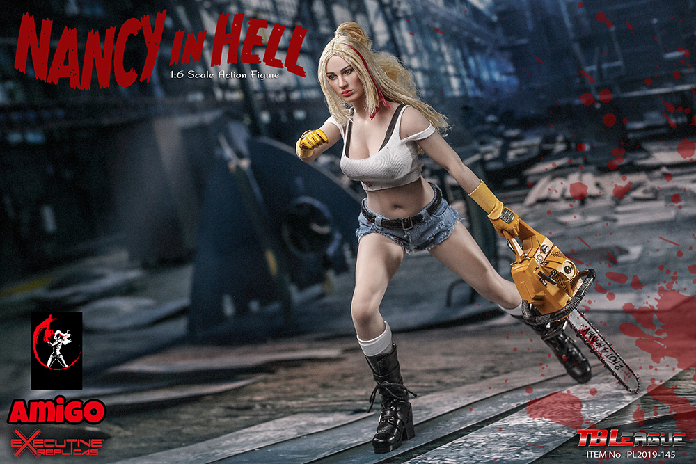 female - NEW PRODUCT: TBLeague: 1/6 Nancy in Hell / Nancy in Hell Figure PL2019-145# 17095010