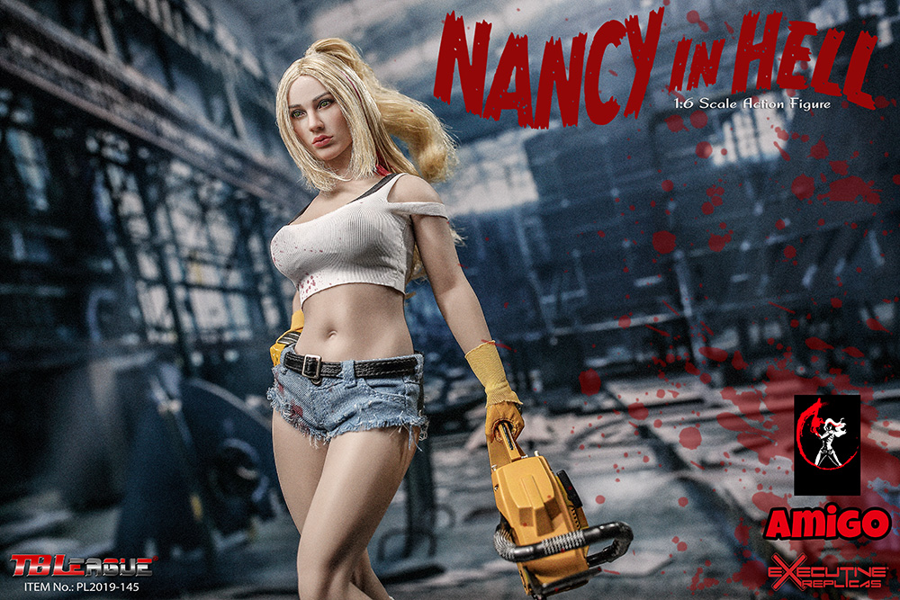 female - NEW PRODUCT: TBLeague: 1/6 Nancy in Hell / Nancy in Hell Figure PL2019-145# 17095111