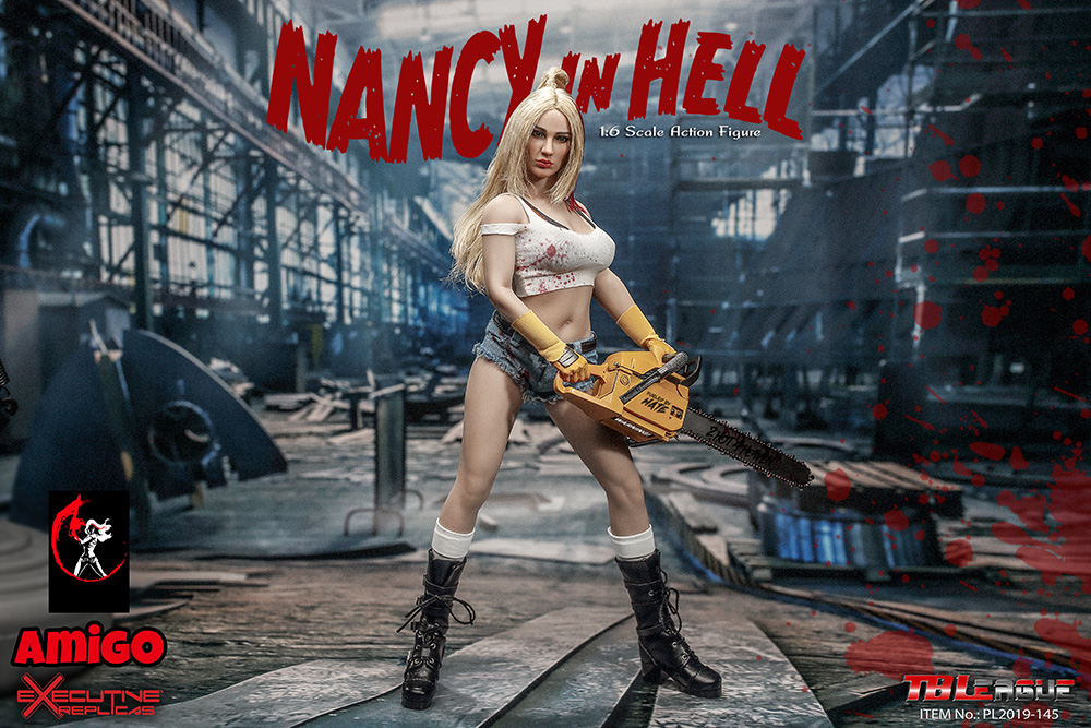 female - NEW PRODUCT: TBLeague: 1/6 Nancy in Hell / Nancy in Hell Figure PL2019-145# 17095210