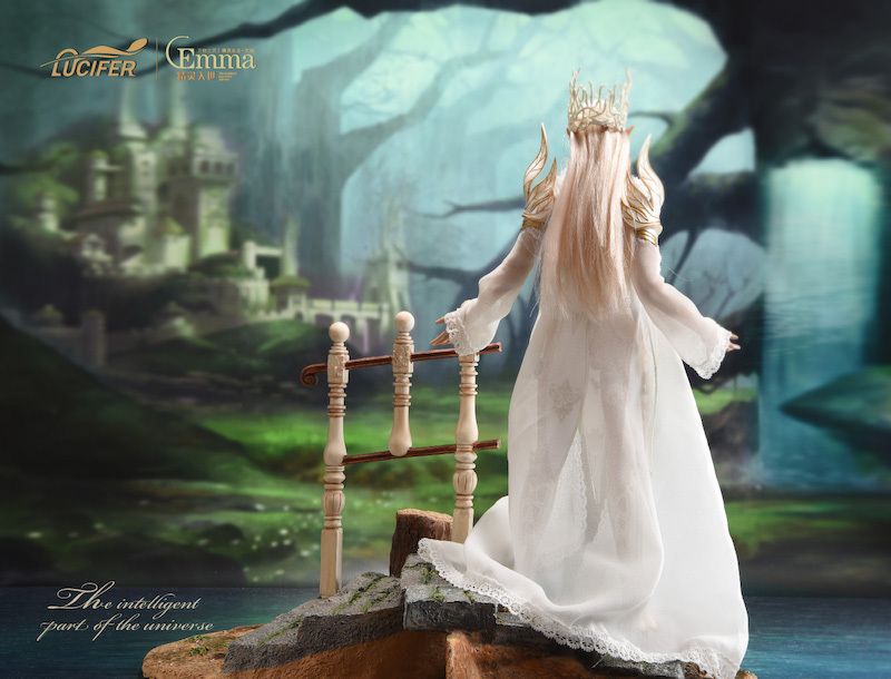 fantasy - NEW PRODUCT: [LXF-1904B] Elf Queen Emma Queen Version 1:6 Figure by Lucifer 17102