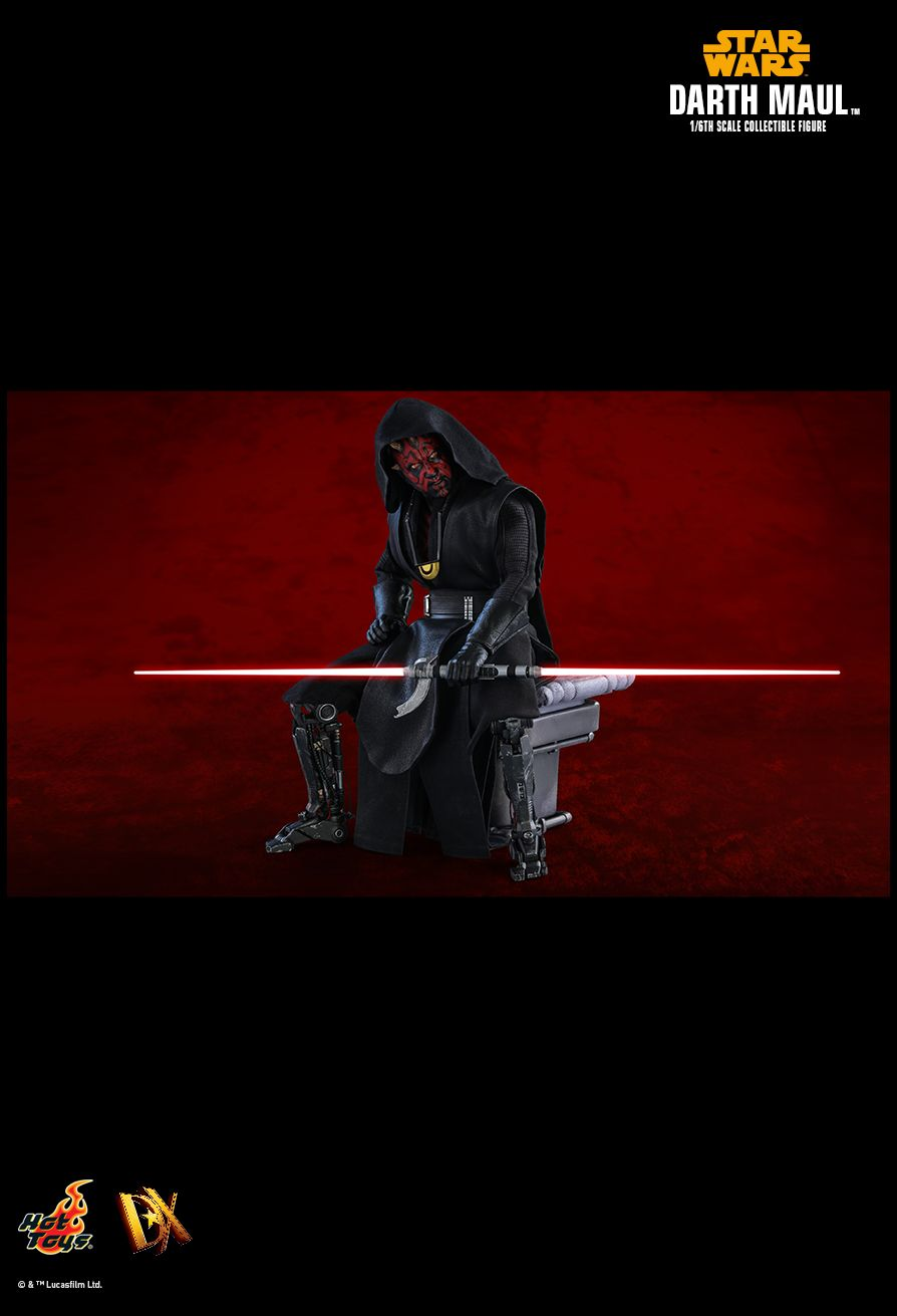 solo - NEW PRODUCT: HOT TOYS: SOLO: A STAR WARS STORY DARTH MAUL 1/6TH SCALE COLLECTIBLE FIGURE 17107