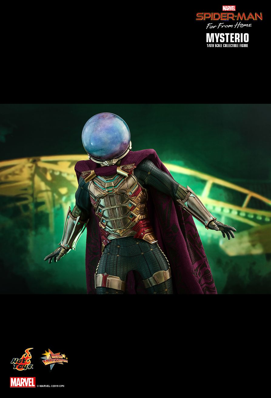 NEW PRODUCT: HOT TOYS: SPIDER-MAN: FAR FROM HOME MYSTERIO 1/6TH SCALE COLLECTIBLE FIGURE 17116