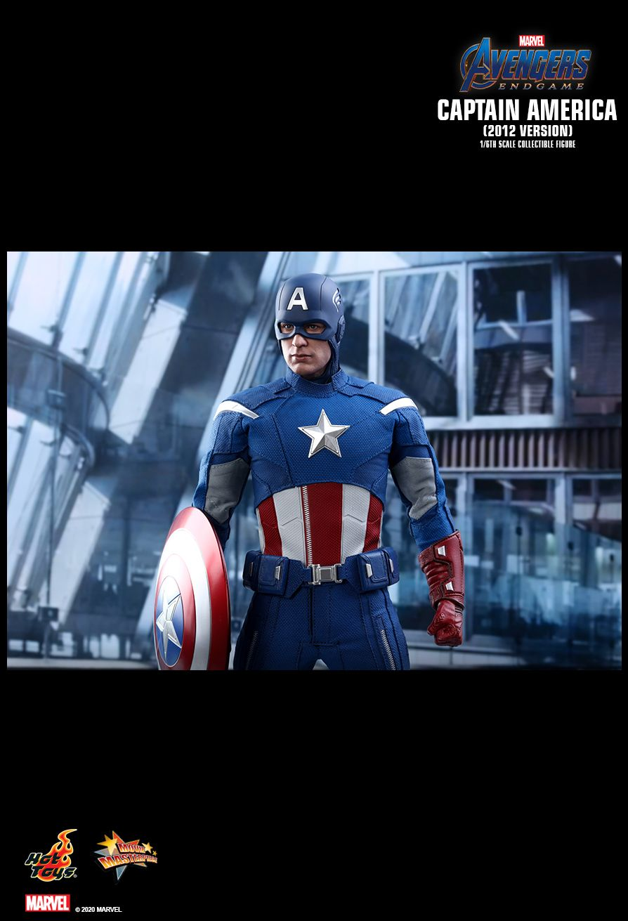 movie - NEW PRODUCT: HOT TOYS: AVENGERS: ENDGAME CAPTAIN AMERICA (2012 VERSION) 1/6TH SCALE COLLECTIBLE FIGURE 17135