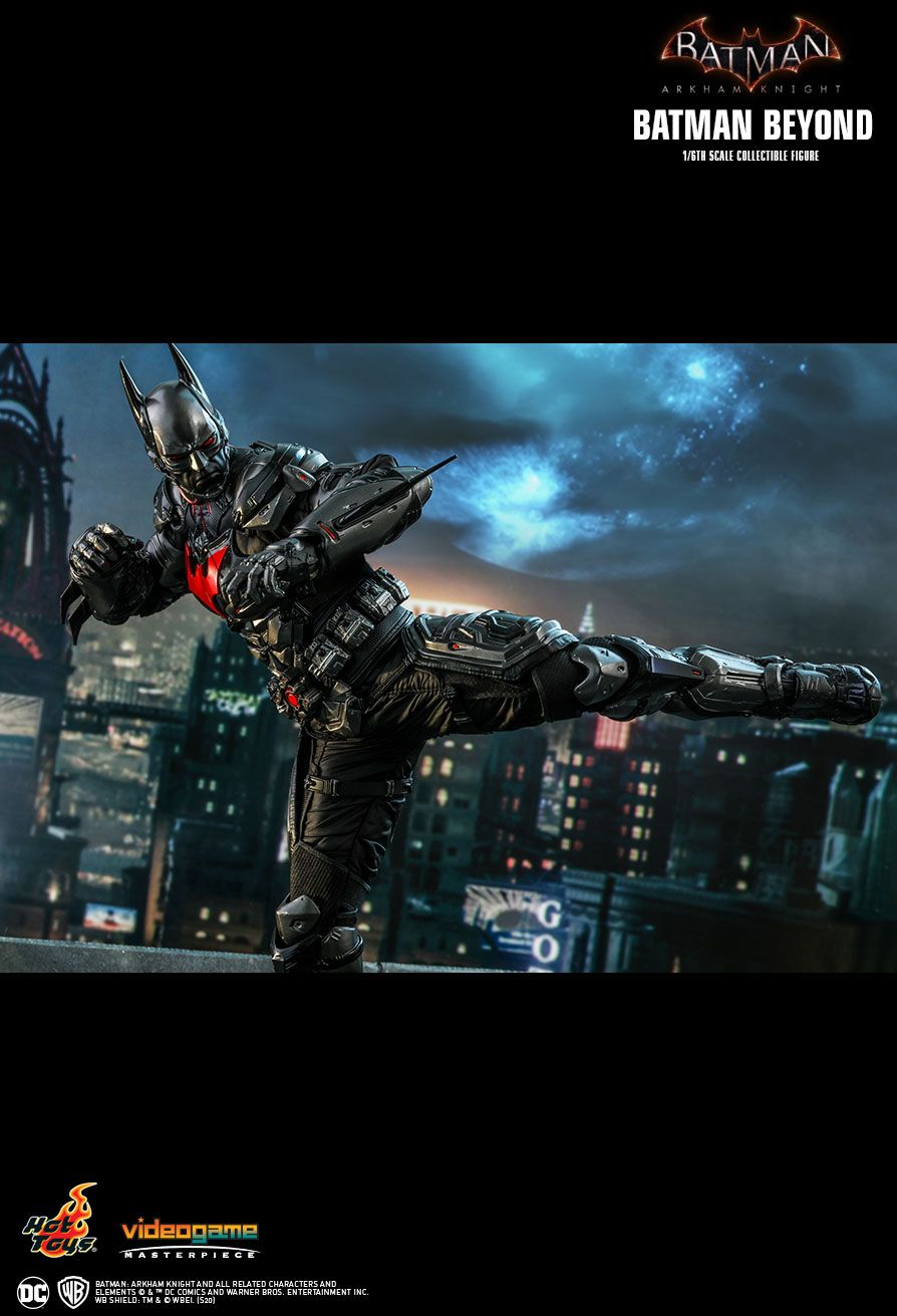 BatmanBeyond - NEW PRODUCT: HOT TOYS: BATMAN: ARKHAM KNIGHT BATMAN BEYOND 1/6TH SCALE COLLECTIBLE FIGURE 17142