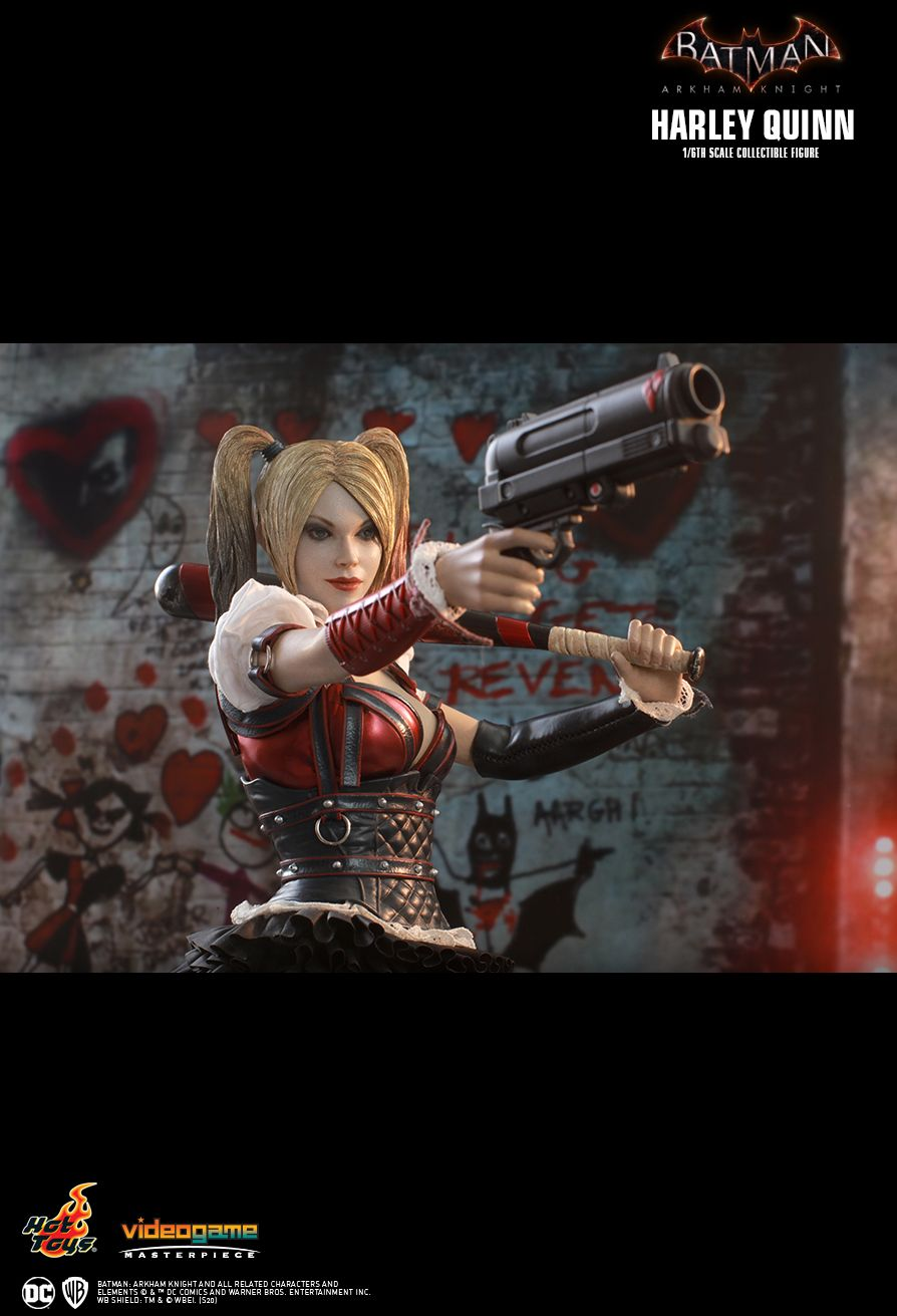 HarleyQuinn - NEW PRODUCT: HOT TOYS: BATMAN: ARKHAM KNIGHT HARLEY QUINN 1/6TH SCALE COLLECTIBLE FIGURE 17151