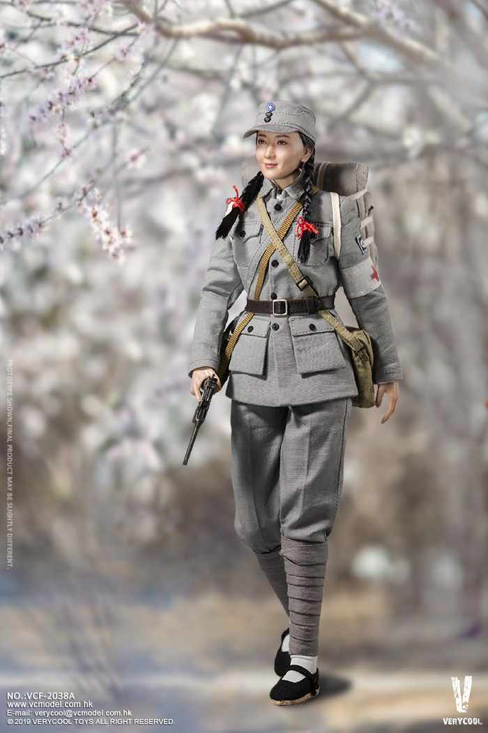 NEW PRODUCT: VERYCOOL: 1/6 National Revolutionary Army Eighth Route Army-Medical Standards & Double-headed Collector's Edition VCF-2038 17155310
