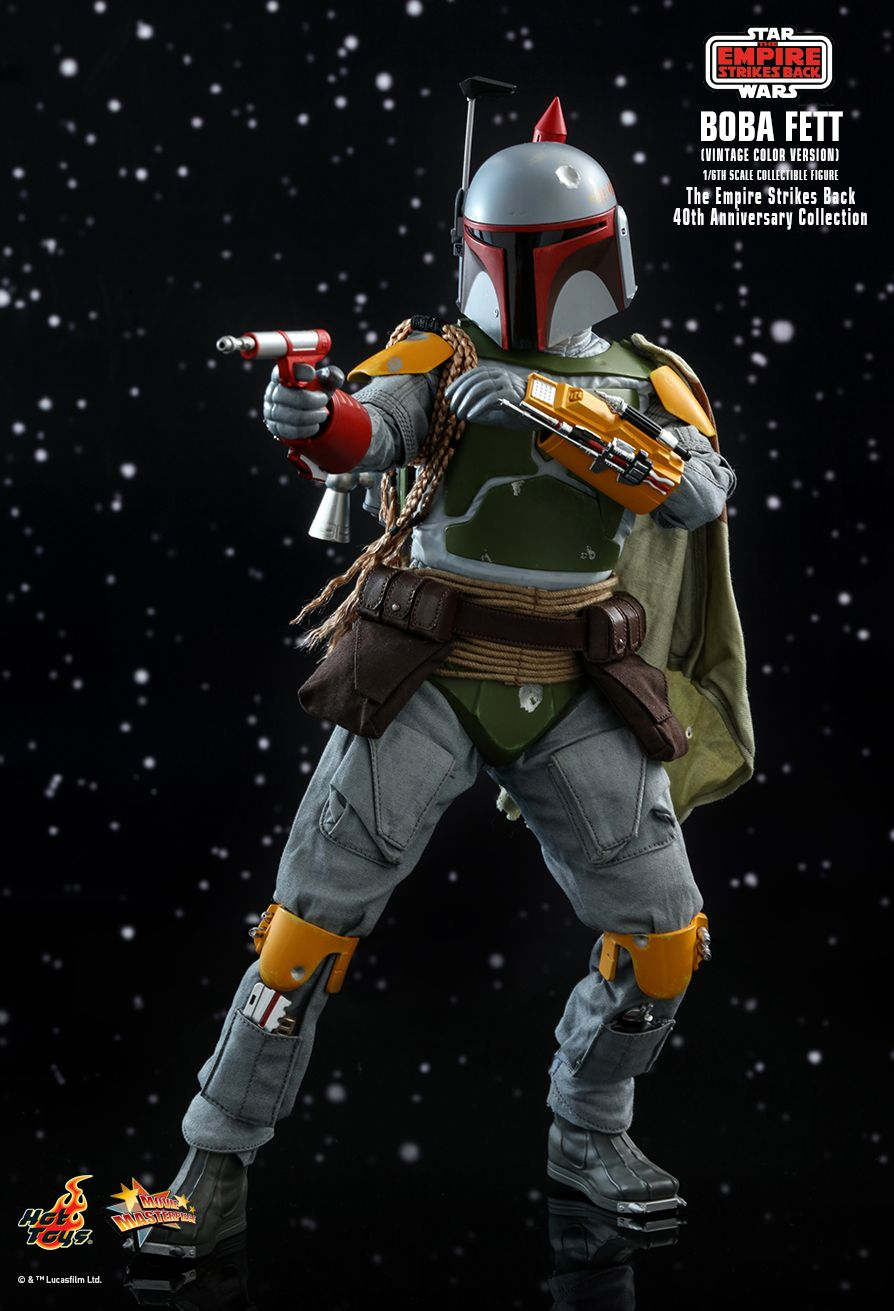 sci-fi - NEW PRODUCT: HOT TOYS: STAR WARS: THE EMPIRE STRIKES BACK™ BOBA FETT™ (VINTAGE COLOR VERSION) (40TH ANNIVERSARY COLLECTION) 1/6TH SCALE COLLECTIBLE FIGURE 17160