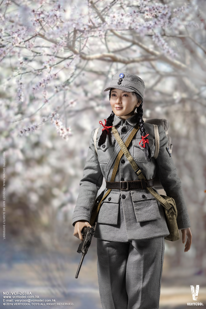 NEW PRODUCT: VERYCOOL: 1/6 National Revolutionary Army Eighth Route Army-Medical Standards & Double-headed Collector's Edition VCF-2038 17160110