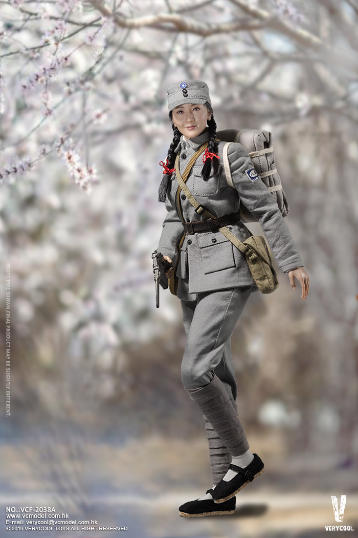 NEW PRODUCT: VERYCOOL: 1/6 National Revolutionary Army Eighth Route Army-Medical Standards & Double-headed Collector's Edition VCF-2038 17160510