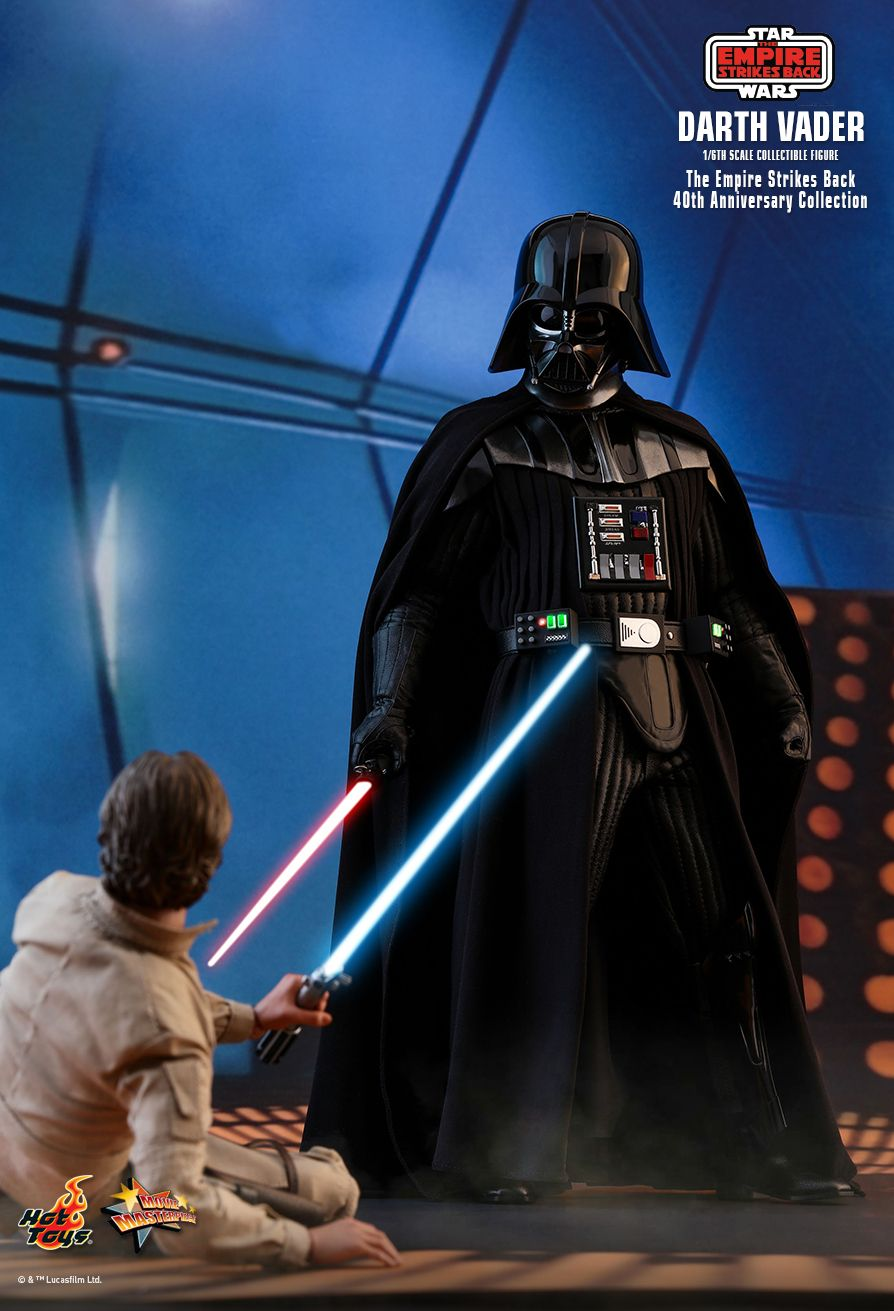 StarWars - NEW PRODUCT: HOT TOYS: STAR WARS: THE EMPIRE STRIKES BACK™ DARTH VADER™ (40TH ANNIVERSARY COLLECTION) 1/6TH SCALE COLLECTIBLE FIGURE 17161
